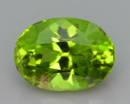 Forest Green 2.45 ct Peridot Ring Size