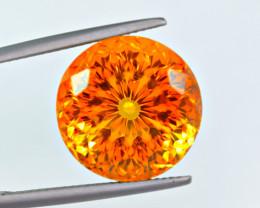 Flawless 19.68 Carat Citrine Cut Gemstone