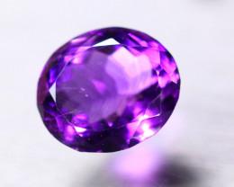7.76ct Natural Purple Amethyst Oval Cut Lot V8733