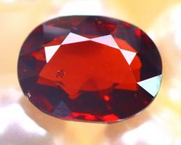 Almandine 2.87Ct Natural Vivid Blood Red Almandine Garnet E1707/B26