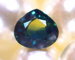 Unheated Sapphire 0.75Ct Natural Blue Sapphire E1709/B9