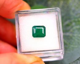 Emerald 2.10Ct Natural Zambia Green Emerald E1714/A38