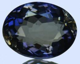 WONDERFUL~ 2.08 Cts Natural Blue Iolite Oval Cut Tanzania