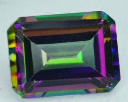 ~EMERALD CUT~ 2.13 Cts Candy Mystic Natural Topaz 8x6 mm Octagon Brazil