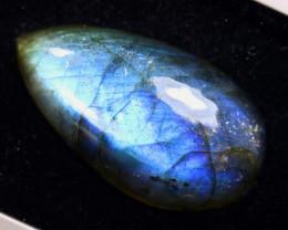34.61cts Natural Blue Flash Labradorite Cabochon / MA1911