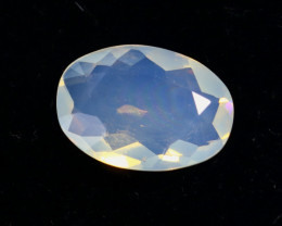 1.37cts Natural Crystal Clear Ethiopian Faceted Welo Opal / MA1919