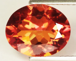 3.01 Cts Multicolored Rare Azotic Topaz Natural Gemstone