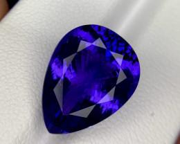 12.46 CTS Blue Tanzanite Gem