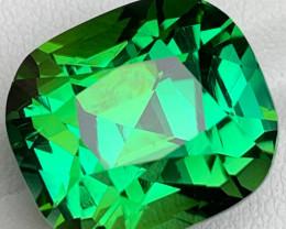 AAAA Greenish Blue Tourmaline Gemstone