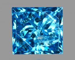 Diamond 0.20 Cts Sparkling Natural Fancy Vivid Blue Color