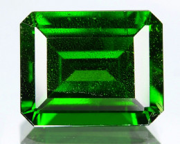 Chrome Diopside 3.17 Cts Natural Green Color Gemstone