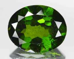 Chrome Diopside 3.18 Cts Natural Green Color Gemstone