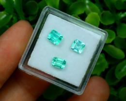 Muzo 1.52Ct Natural Colombian Emerald Neon Green Mint Beryl A1526