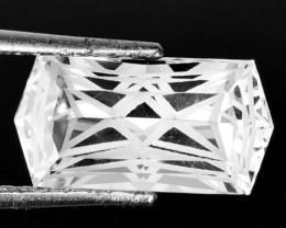10.20 Cts Glamorous Natural White Topaz Fancy Custom Cut Ref VIDEO