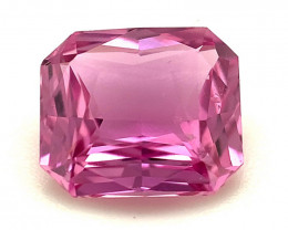 1.53ct Natural Unheated Pink Sapphire from Ceylon, Certified Gemstone