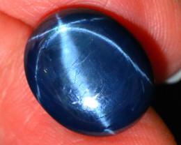 Star Sapphire 12.78Ct Natural 6 Rays Blue Star Sapphire D1820/A39