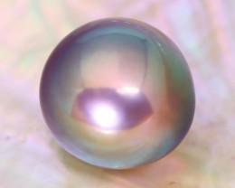 14.0mm 18.37Ct Natural Tahitian Golden Black Pearl C1528
