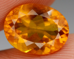Natural  Heliodor 1.60  Cts, Top  Luster.