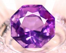 Amethyst 6.07Ct Natural Uruguay Electric Purple Amethyst E1924/C4