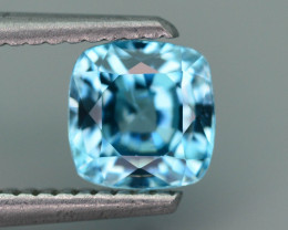 AAA Brilliance 1.90 ct Blue Zircon Cambodia ~ K