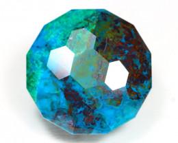 Chrysocolla 40.24Ct Master Cut Natural Greenish Blue Chrysocolla AT33