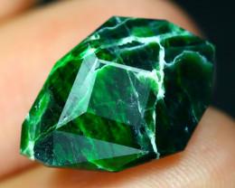 Maw Sit Sit 9.11Ct Precision Master Cut Natural Burmese Jadeite Jade AT38