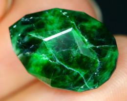 Maw Sit Sit 8.04Ct Precision Master Cut Natural Burmese Jadeite Jade AT40