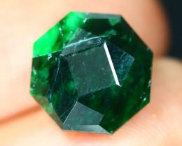 Maw Sit Sit 5.05Ct Precision Master Cut Natural Burmese Jadeite Jade AT41