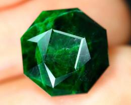 Maw Sit Sit 8.96Ct Precision Master Cut Natural Burmese Jadeite Jade AT48