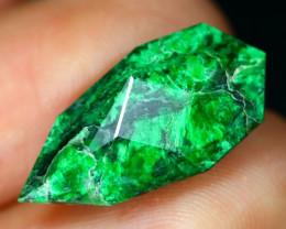 Maw Sit Sit 8.51Ct Precision Master Cut Natural Burmese Jadeite Jade AT49