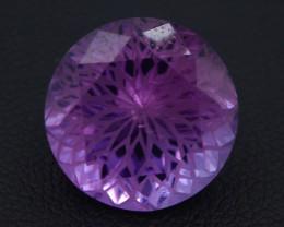 7.85 CT Natural Gorgeous Color Fancy Cut Amethyst T