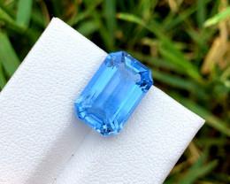 6.50 Carats Aquamarine Gemstone