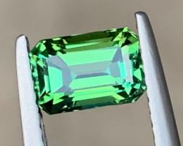 Spectacular 1.57 carats Natural Green Tourmaline
