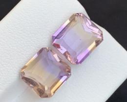 11.65 carats Bi-color Amazing Ametrine gemstone