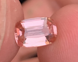 1.40 carats Baby pink colour Tourmaline Gemstone From  Afghanistan