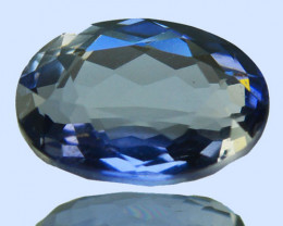 WONDERFUL~ 1.76 Cts Natural Blue Iolite Oval Cut Tanzania