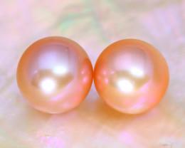 8.1mm 7.20Ct Natural Australian South Sea Pink Color Pearl B1619