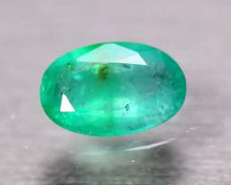 1.77Ct Natural Zambia Green Emerald Oval Cut Lot B4117