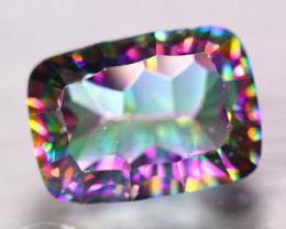 15.49Ct Natural Mystic Quartz Octagon Cut Lot B4130