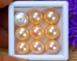 56.74Ct Natural Fresh Water Pearl Cultured Drill Lot B4140