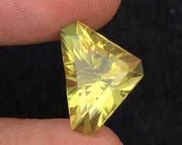 Brilliant Color  7.40 Ct Natural Citrine gemstone