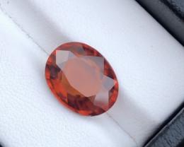 Fanta Color Beautiful Eye Catching Color 5.75 Ct Natural Orange Color Spe