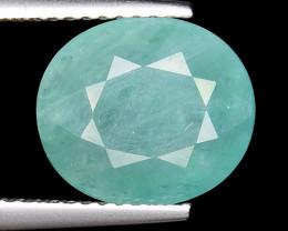 3.93Ct World Rarest Grandidierite Top Quality Gemstone GR3