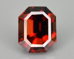 AAA Brilliance 2.10 ct Orange Zircon Ring Size Zircon