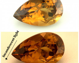 1.88(ct) Alexandrite GCI Certified Natural Pleasing Color & Luster Gemstone