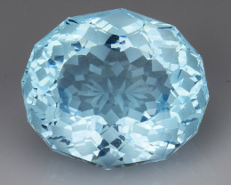 12.85Ct Blue Topaz Top Fancy Cut And Top Luster Gemstone TP3