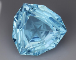 7.76Ct Blue Topaz Top Fancy Cut And Top Luster Gemstone TP4