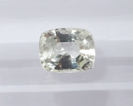 1.03 unheated white  sapphire