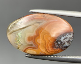 5.65 Cts Rare Mexican Crazyless Agate Cabochon. Crz-59392