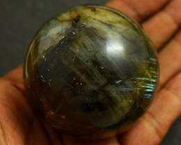Genuine 1127.00  Cts Labradorite Healing Ball